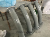 Alumina Ceramic Lined Pipe Elbows  for Dust Removal