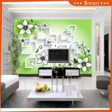 Mouth Shape Kiss The Petal Walls Paper TV Background Oil Painting