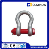G2130 Forged U. S Type Bow Shackle, Galvanized Bow Shackle
