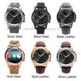 T2 Smart Phone Watch for Bluetooth Waterproof Smartwatch Sliver Wearable Devices Bracelet Watch with Heart Rate Function