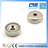 N42 D20xh7mm High Quality Pot Neodymium Magnet