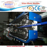 PVC PP PE PA Single Wall Plastic Corrugated Pipe Extrusion Line