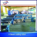 Efficient Automatic Feeding Steel Angle Bars Joist CNC Plasma Cutting Robot Drilling Beveling Machine
