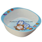 100%Melamine Dinnerware-Kid′s Rectangle Bowl (BG2082)