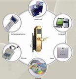 Golden Electric Panel Door Lock for Hotel