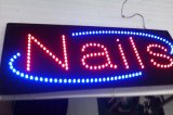 Acrylic LED Nails Sign (HSN0006)