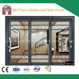 Factory Price Aluminum Sliding Doors with Blinds