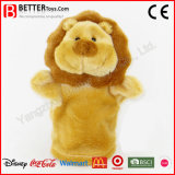 China Wholesale Soft Stuffed Animals Lion Hand Puppet
