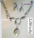 Pearl Wedding Jewelry Set (XJW1185)