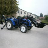40-55HP Farm Tractors, 4X4 Tractors with Front Loaders and Backhoe