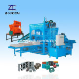 Semi-Automatic Hydraulic Cement Hollow Solid Paving Brick Block Making Machine (QTY4-25)