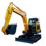 Crawler Type, CE Marked, 6ton Small Hydraulic Excavator