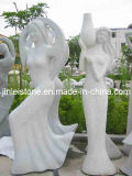 Popular G603 Natural Granite Stone Sculpture Withe Factory Price