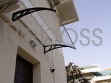 Polycarbonate Awnings/ Canopy / Gazebos/ Shelter for Windows & Doors (D Series)