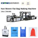 Non Woven D-Cut Shopping Bag Making Machine