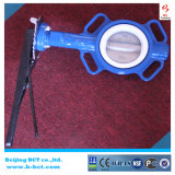 Full PTFE Anticorrosion Butterfly Valve with Handle Bct-F4bfv-18