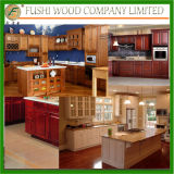 Kitchen Cabinet Furniture Oak Face Cabinet Plywood