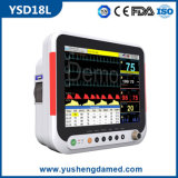 Ysd18L Hot Sale Multi-Parameter Medical Equipment Patient Monitor