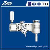 """Portable Lightweight Low Clearance Inner Mounted Flange End Facer Manual Flange Facing machine for 1""""-6"""""""