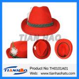High Quality Bavarian Wool Felt Mountain Hat