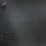 Fashionable PVC PU Synthetic Microfiber Leather for Sofa (HS-QF03)