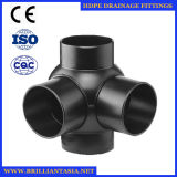 HDPE Ball Fitting HDPE Siphon Drainage Pipe Fittings Ball Type HDPE Spherical Four-Way Coupling for PE Fittings