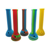 Wholesale Unbreakable New Design Beaker Silicone Hookah Smoking Glass Water Pipe