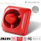 DC24V Conventional Fire Strobe Siren for Fire Alarm System