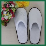 Custom Coral Fleece Hotel Disposable Slippers for Airline