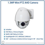 1.3MP Infrared Mini PTZ Ahd IR High Speed Dome Camera