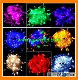 Solar RGB LED String Lighting for Christmas Decorating