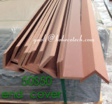 Vinyl Composite Decking Anti Crack Waterproof Eco WPC End Cover