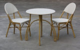 Outdoor Cafe Furniture, Textilene Table and Chair (TC-08034+DT-08003)