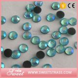 Ss16 Aquamarine Chain a Quality Stone of Hotfix for Promotion Sale
