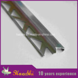 Tile-in Ramp Aluminum Extrusion Profiles in Matt Silver Finishing (HSSN-05)