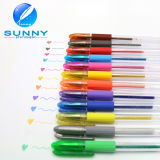 12 Colors Gel Ink Pen, Gel Ball Pen for Promotion and Gift