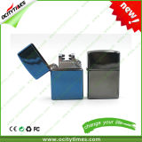 Ocitytimes USB Rechargeable Lighter Double Arc Lighter for Gift