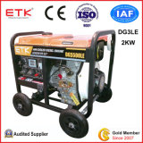 Power Open Single Phase Diesel Generator (2KW)