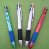Hot Selling Promotional Four Color Plastic Ballpen Branded Multi-Color Ballpen