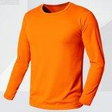 Cusatomize Men′s Long Sleeve Sport Shirts Gym Sport training Dry Fit Tshirt