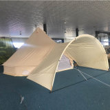 Wholesale 5m Bell Tent with ACR-Shaped Sunshade Awning for Sale