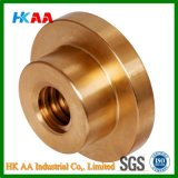 Trapezoidal Sliding Leadscrew Nut with Flange Tr. 10 X 3 Single Start Right Material Red Bronze