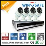 4PCS IR IP Camera Kit / NVR Case