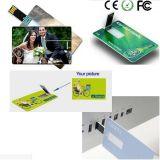 Custom Printed Business Card USB2.0 USB Flash Drives Memory Stick Pen Drive