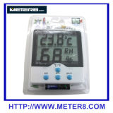 Temperature and humidity meter clock HTC-5