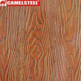 Wood Grain Prepainted Galvanized PPGI Steel Coil