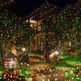 Outdoor Star Laser Light with Remote, Laser Christmas Lights Outdoor