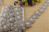 Handmade Beaded Wedding Dress Rhinestone Belts, DIY Accessories