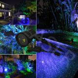 Blue Moving Garden Laser Christmas Lights, Elf Lights, Tree Lights