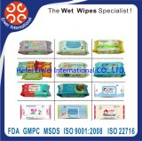 Disposable Non Alcohol Antibacterial Wet Wipes / Wet Tissue